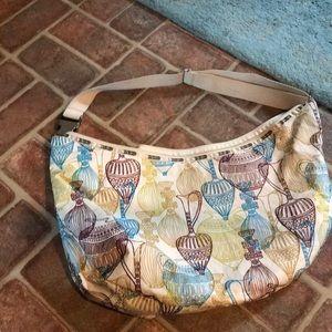 Large hobo Lesportsac vintage Artisanal pattern